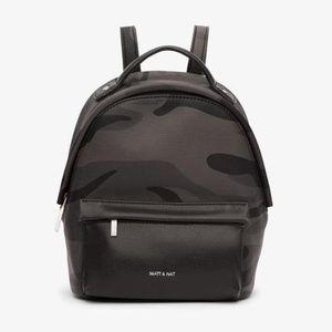 Matt & Nat Munich Mini Camo Backpack